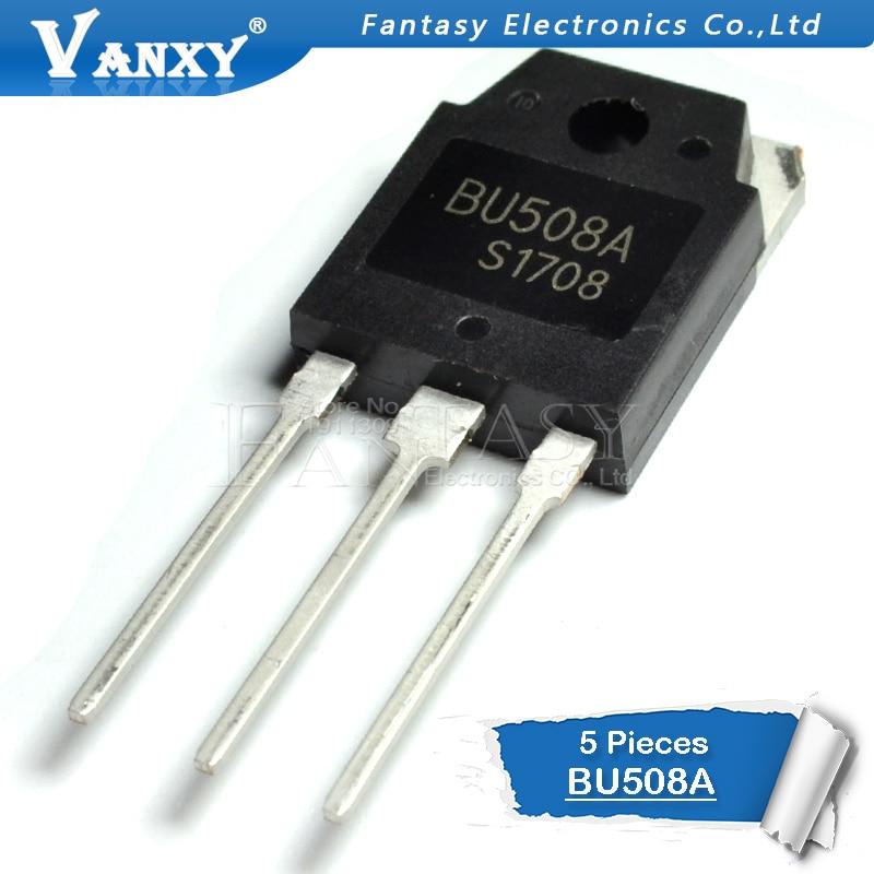 5PCS BU508 TO-3P BU508A TO-247 New Original