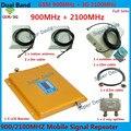 ЖК-Дисплей GSM Усилитель Сигнала 3 Г Dual Band Усилитель 2 Г + 3 Г двойной Бар Band сотовый усилитель сигнала Repetidor Расширитель 2 номер