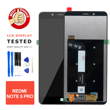 For Xiaomi Redmi Note 5 Pro LCD Display + Touch Screen Replacement 5.99 LCD Redmi Note 5 Pro Note5 Prime Screen LCD Assembly
