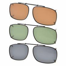 029f4d06d C86 eyekepper gris/marrón/G15 lente 3-pack polarizadas Clip-on Gafas de sol  52x36mm