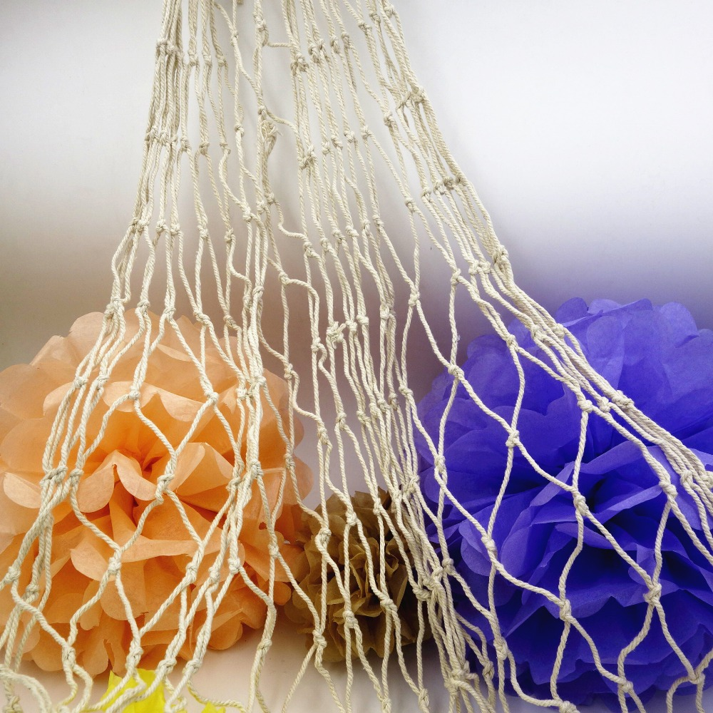 Decorative Fish Netting Aliexpresscom Buy High Quality 1mx 2m Home Decoration Nautical