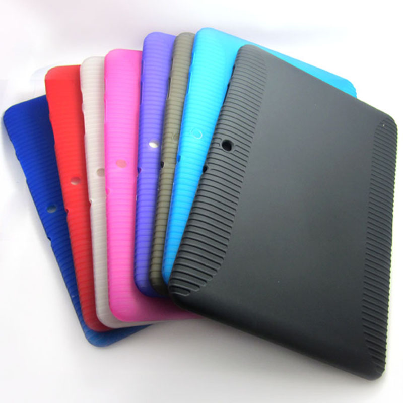 For Samsung Galaxy TAB 2 10.1 P5100/P5110 Soft TPU Silicone Gel Cover Case shell skin for samsung galaxy tab 2 Free Shipping