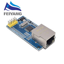 W5500 Ethernet netwerk module hardware TCP/IP 51/STM32 microcontroller programma over W5100(China)