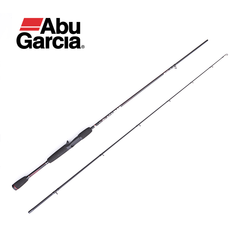 Fishing-Rod Abu Garcia Black Power-Rod Spinning/casting 2-Section-M for Pesca 6'6-Max-Bmaxc662m