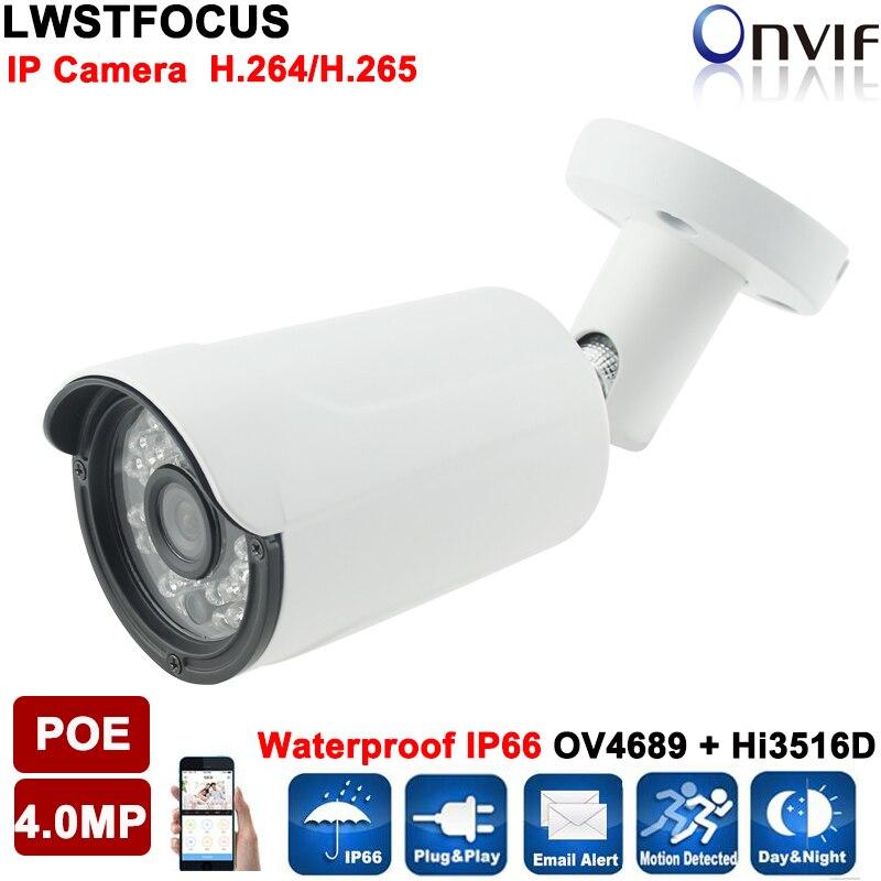 Muti language 4MP IP Camera Outdoor Security Bullet Camera POE Network camera LWBV30S400 Video Surveillance 4MP 3.6/2.8mm lens