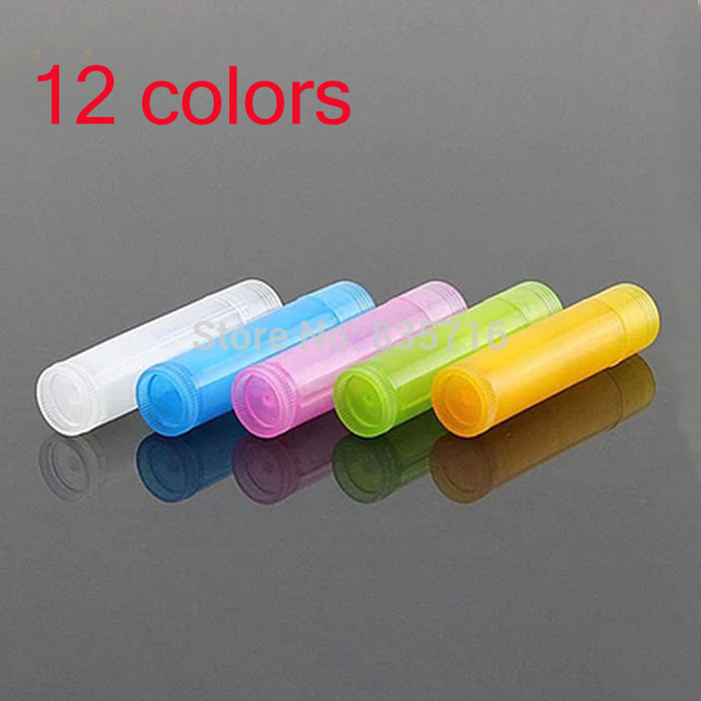 10pcs/lot 2020 New Diy Lipstick Cool Liptube 10 Colors Balm Tube Empty Liptubes Containers Lip Tubes Balm Tubes Free Shipping