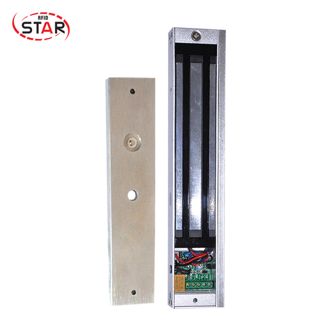 280kg600lbs Holding Force Glasswoodenfireproof Door Exposed