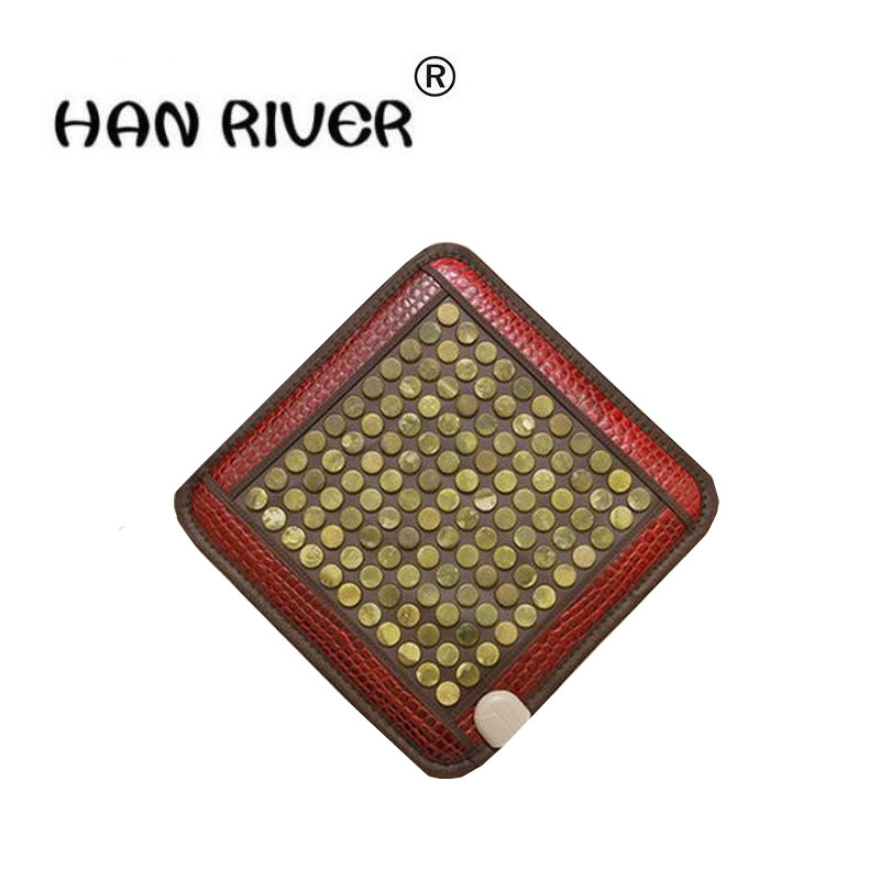 New fashion home massage cushion chair cushion heating pad germanium stone cushion tomalin ochre buffer's office купить в Москве 2019