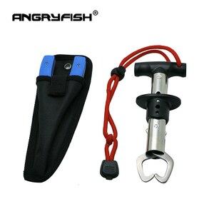 Image 5 - طقم أدوات لصيد الأسماك من ANGRYFISH مصنوع من الفولاذ المقاوم للصدأ ومتحكم في قبضة صيد الأسماك + مجموعة من كماشة خطافات الصيد متعددة الوظائف