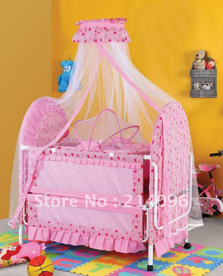 Factory direct sale  elegant children bed baby bed BC-428