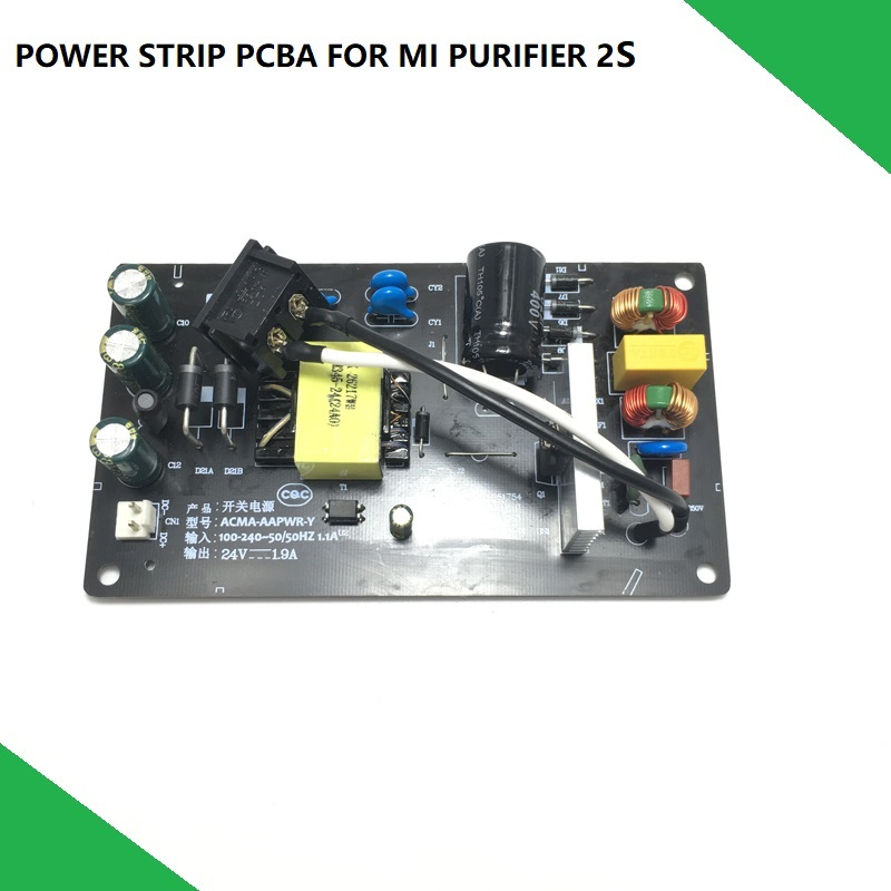 Power Strip Supply PCB PCBA Board for Xiaomi MI Purifier 2s Air Purifier Repair Parts ReplacementPower Strip Supply PCB PCBA Board for Xiaomi MI Purifier 2s Air Purifier Repair Parts Replacement