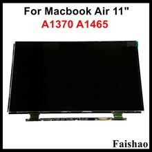 Faishao New Genuine LCD LED Display Screen Panel B116XW05 V.0 for Apple Macbook Air 11″ A1370 A1465 2010-2015 Year Replacement