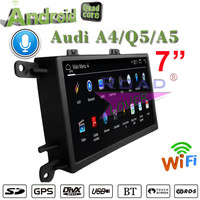 Roadlover Android 4.4 Car Multimedia Autoradio Player For Audi A4 A5 Q5 (2009 2015) Stereo GPS Navigation Magnitol 2 Din NO DVD