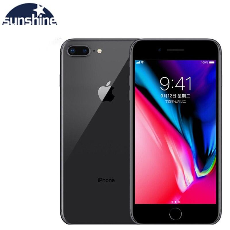 Unlocked Original Apple iPhone 8 Plus Used Mobile phone Cell phones 3GB RAM 64/256GB ROM 5.5' 12.0 MP iOS Hexa-core