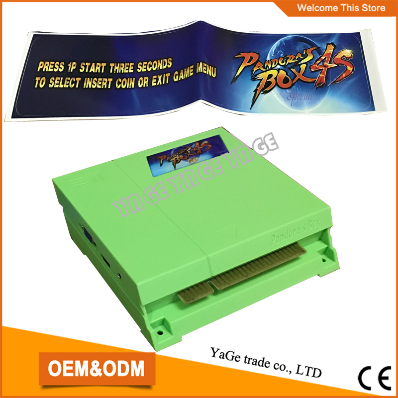 ФОТО Best price!!!Pandora's Box 4S jamma arcade game 680 different games in 1 pcb board, multi game board/game box