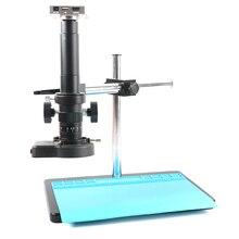 Microscope et caméra enregistreur vidéo, 37mp 1080P HDMI USB, lentille 180X 300X c mount pour le soudage de PCB