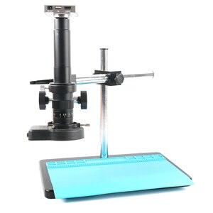 Image 1 - Microscope et caméra enregistreur vidéo, 37mp 1080P HDMI USB, lentille 180X 300X c mount pour le soudage de PCB