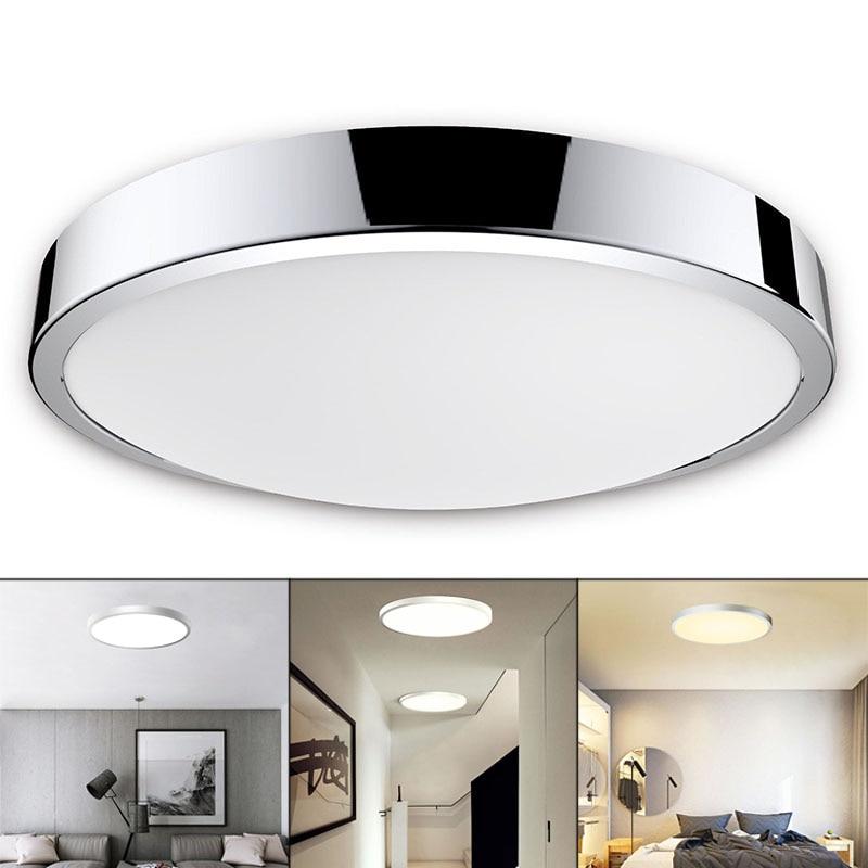 Led bathroom ceiling ip44 waterproof warm cool daylight - Waterproof bathroom ceiling lights ...