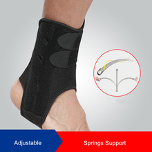 1 Pcs Foot Angel Sports Fixed Ankle Support Brace Stabilizer with Springs for Basketball Sprain Protection Sleeve