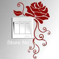 Rose covenant switch stickers wall decoration wall stickers s