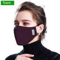 * Baumwolle PM2.5 Schwarz mund Maske anti staub maske aktivkohle filter Winddicht Mund-muffel bakterien beweis Grippe Gesicht masken Pflege