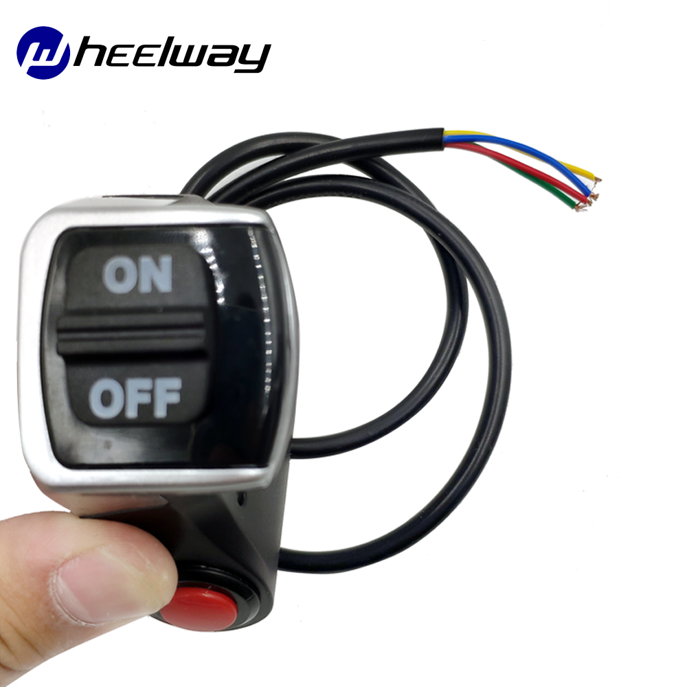 Wheelway electric Bicycle Switch Horn/Turn Light E-bike Scooter DIY Kit With Buttons Electric Bicycle Switch Accessories