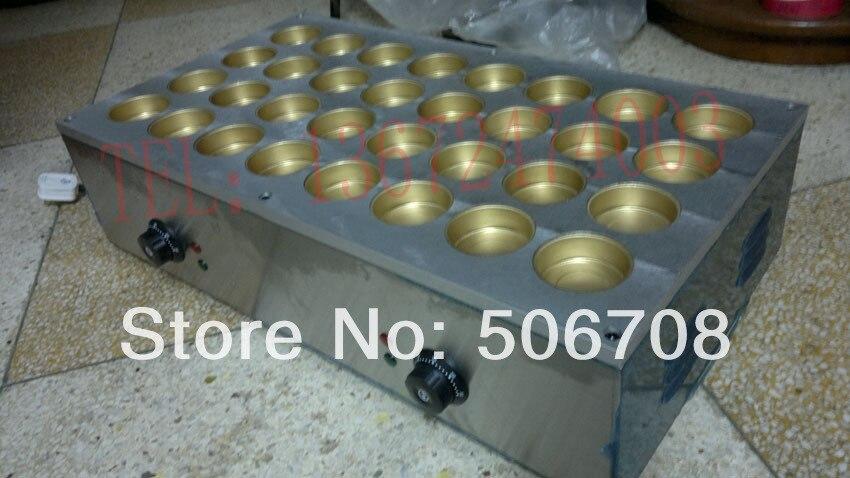 free shipping 220v Electric 32 hole bean cake maker Beans cooker,Dorayaki machine