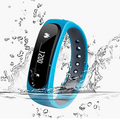 Waterproof Bluetooth Smart Bracelet E02 Health fitness tracker Sport / SMS Remind Smartband Watch For IOS Android Phones iPhone