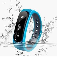 Водонепроницаемый Bluetooth Smart Браслет E02 здоровья фитнес-трекер Спорт/sms напомнить SmartBand часы для IOS Android телефонов Iphone