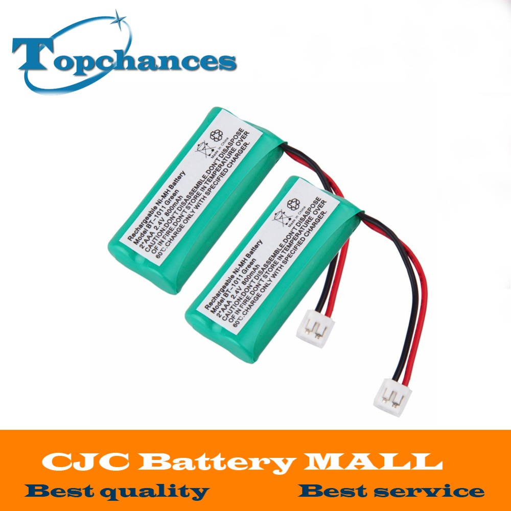 CJC Battery Mall------Best quality,Best service Brand New 5 PCS 2.4V 800mAh Ni-MH Cordless Phone Battery for Uniden BT-1011 BT-1018 BT101