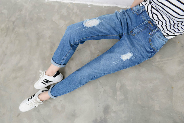 Fashion Boyfriend Jeans