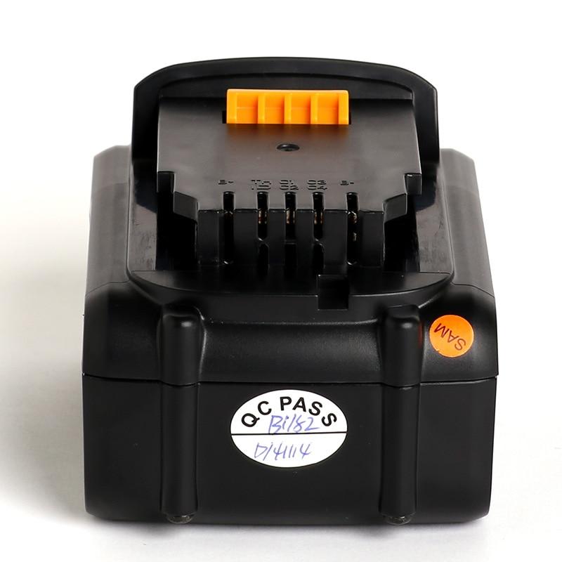 for Dewalt 18VC 4000mAh power tool battery DCB204 DCB203 DCB182 DCB201 DCB200 DCB180 DCB181