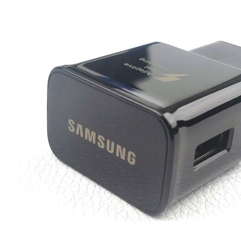 Image 4 - Оригинальное настенное зарядное устройство EU Samsung Galaxy для s9 S8 plus Note 8 9 9 v/1.67A адаптивный адаптер для быстрой зарядки и кабель Usb Type C-in Зарядные устройства from Мобильные телефоны и телекоммуникации