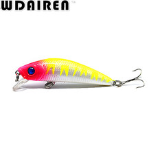 Brand 7CM 8.1G Lifelike Minnow Fishing Lure 6# Hooks Fish Wobbler Tackle Crankbait Artificial Japan Hard Bait Swimbait NE-285
