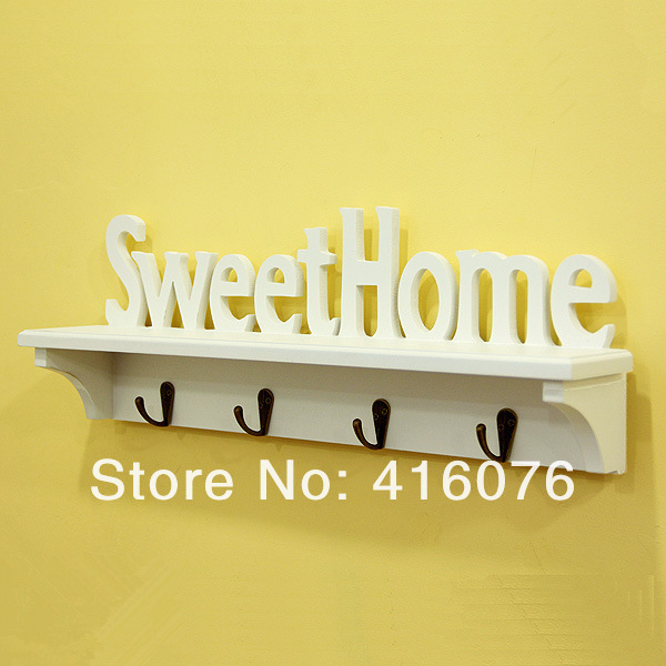 Special Offer Sweet Home Wall Shelf Storage Rack Rural