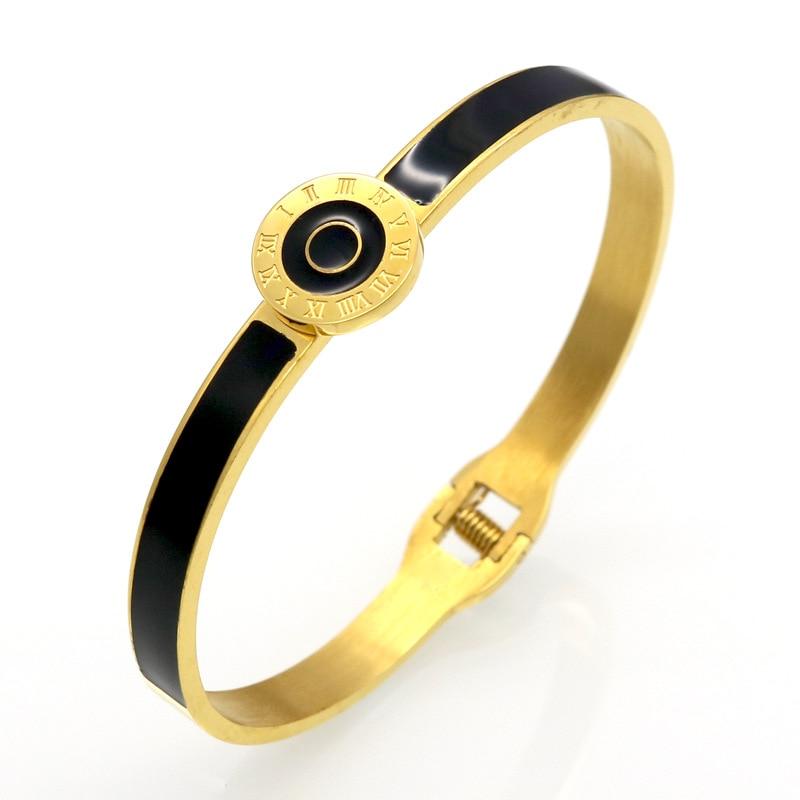 Tyme New Rome digital spring Bracelet Carter love bracelets & bangles for women cross Rose Gold Bracelet H Bangle Men Jewelry