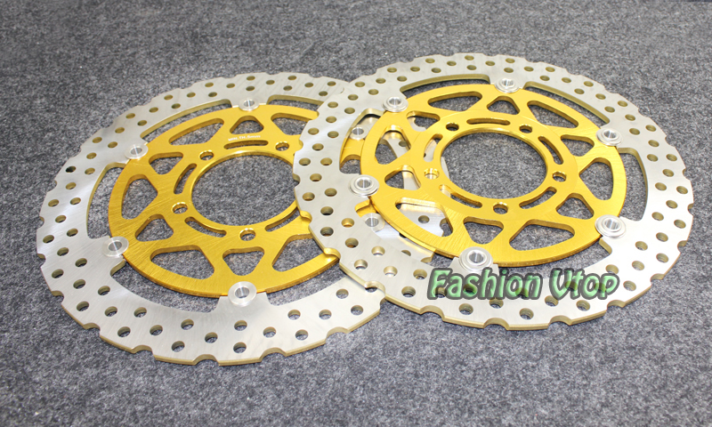 Motorcycle Front Brake Disc Rotors For Z 750R Non ABS (ZR 750 NBF)/ABS (ZR 750 PBF) 2011 Universel new motorcycle front rotor brake disc for kawasaki zr 7 zr 7s zr750 zzr600 z750s gtr1000 zg1000 z1000 zr1000 gpz1100 non abs