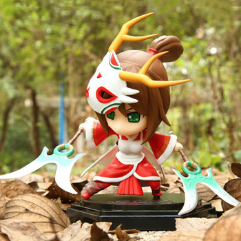 LOL League Of Legends figuur Action Game Akali De Vuist Shadow Karakter Model Toy action-figuur 3D Game Heros anime party Gift