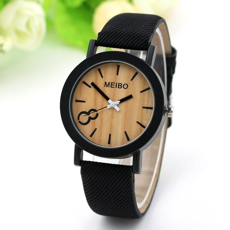 Wrist Watches Wooden Clock Quartz Hot-Sale Femme Fashion Reloj Mujer Montre Zegarek Analog