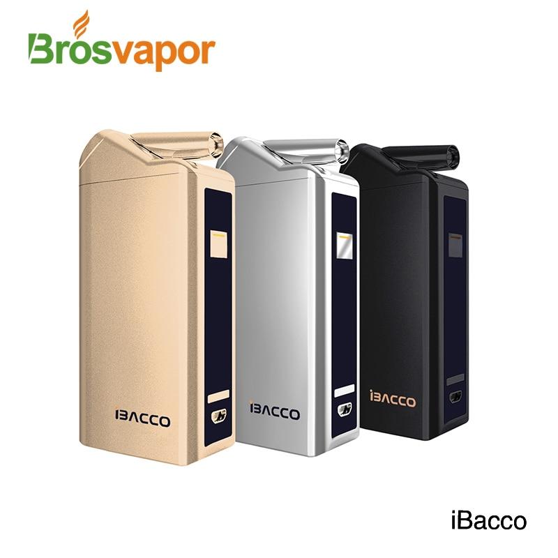 New product iBacco Kit heat not fire vape Electronic Cigarette Vape Mod Box Vaporizer for heating