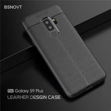 For Samsung Galaxy S9 Plus Case Soft Shockproof PU Leather Cover G965N
