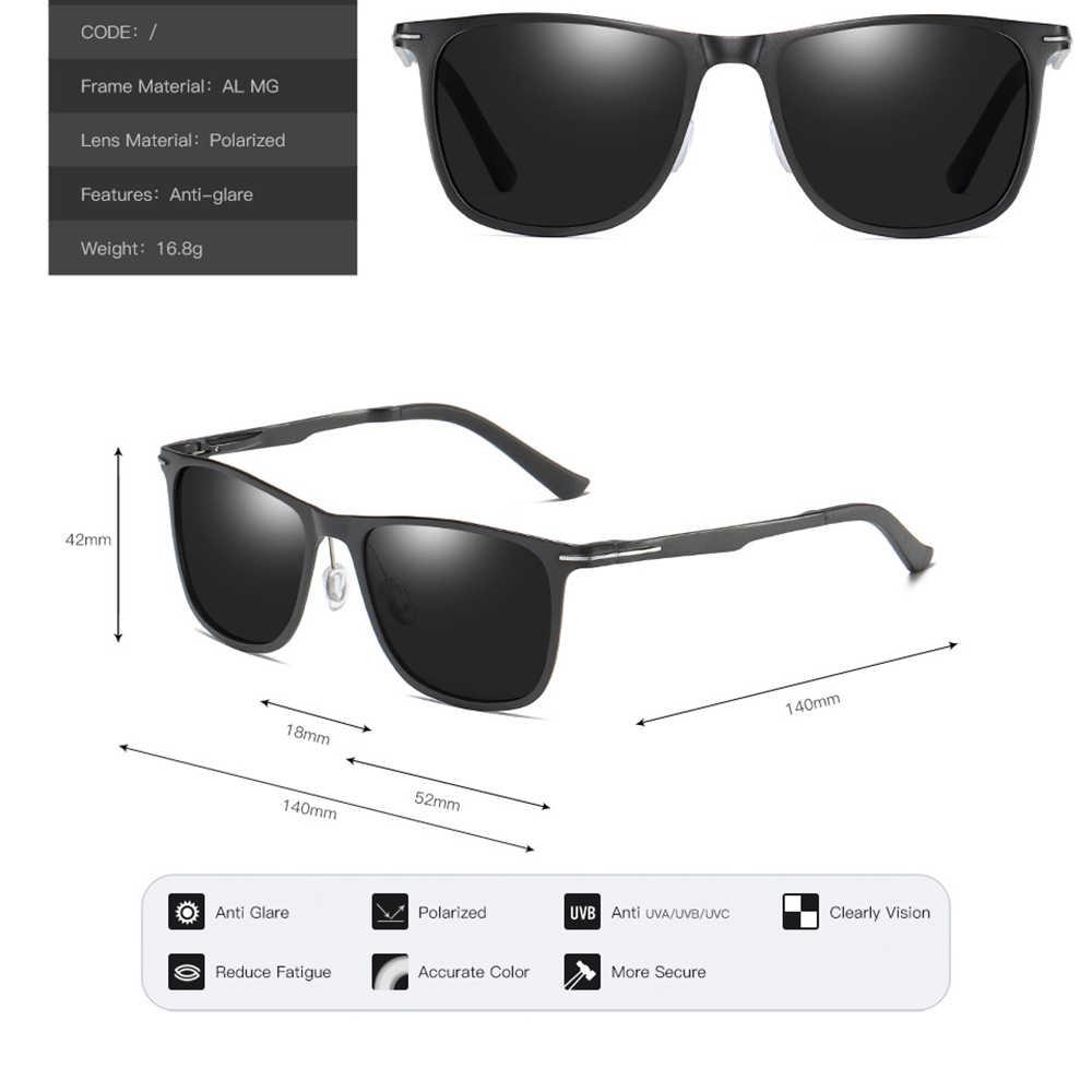 AL-MG ビッグスクエア男性女性太陽メガネに偏光ミラーブルー/ブラック老眼鏡サングラスメガネ + 0.75 + 1 + 1.25 + 1.5 + 1.75 + 2 + 4