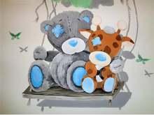 5d diy Алмазная вышивка с изображением медведя из мультфильма