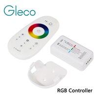 RF 2,4G RGB RGBW контроллер Светодиодная лента RGB контроллер Беспроводной RF пульт дистанционного управления с дистанционным настенным держателем...
