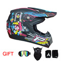 ENVÍO GRATIS motorcycle racing casco cruz Casco capacetes motocross Off Road Helmet 3 regalo libre