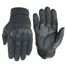 Touchscreen Motorcycle Skidproof Gloves Full Finger Hard Knuckle Protective Gloves For Outdoor Sports Racing Motocross ATV цена