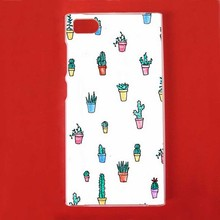 Funny Cactus Potted Plastic Protective Shell Skin Bag Cover Case For Xiao Mi3