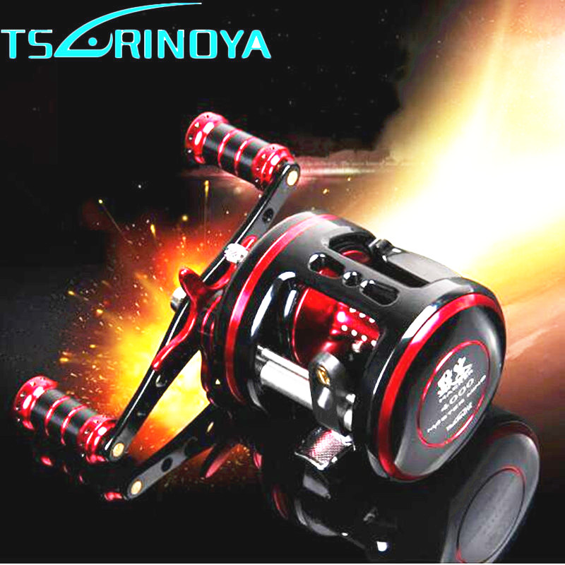 Tsurinoya Full Metal Drum Reel R/L Hand 9BB 5.3:1 Fishing Reel Steering-wheel Bait Casting Fishing Reel Molinete Para Pesca tsurinoya spinning fishing reel 9bb 5 2 1 full metal 2000 5000size ocean boat lure reels carretes pesca molinete fishing wheel
