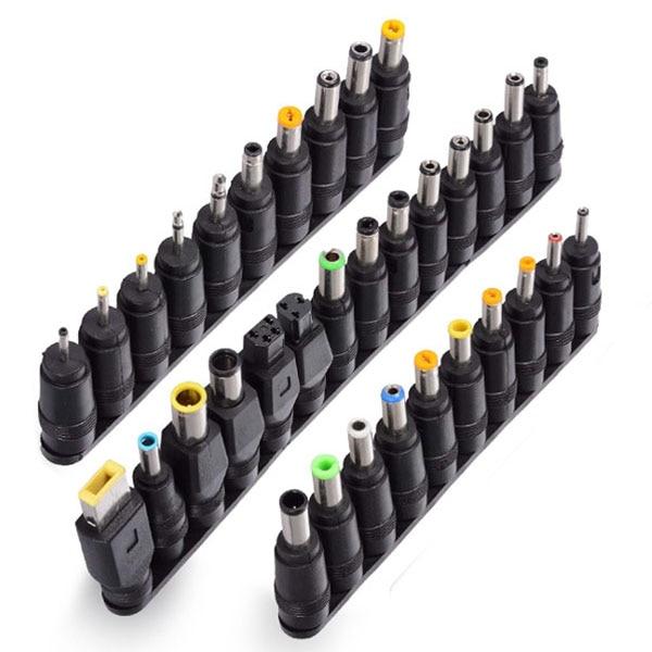34 шт. Универсальный адаптер питания 96 Вт 12 В до 24 В регулируемое портативное зарядное устройство для Dell Toshiba Hp Asus acer ноутбуков Eu-Plug