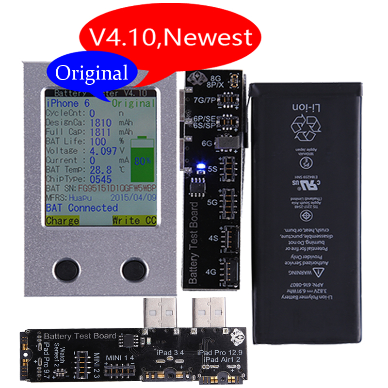 Newest Apple iPhone Battery Tester For iPhone X 8 8P 7 7P 6 6P 6S 6SP